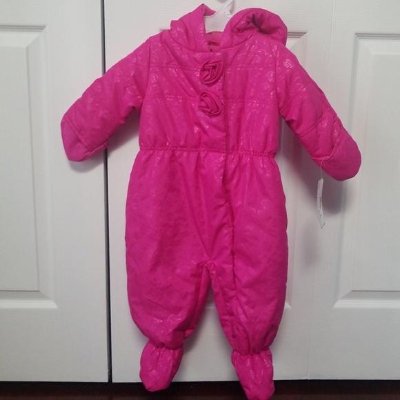 2c338e4ad Rothschild Jackets & Coats | Novelty Bubble Pram Pink Snowsuit Nwt ...